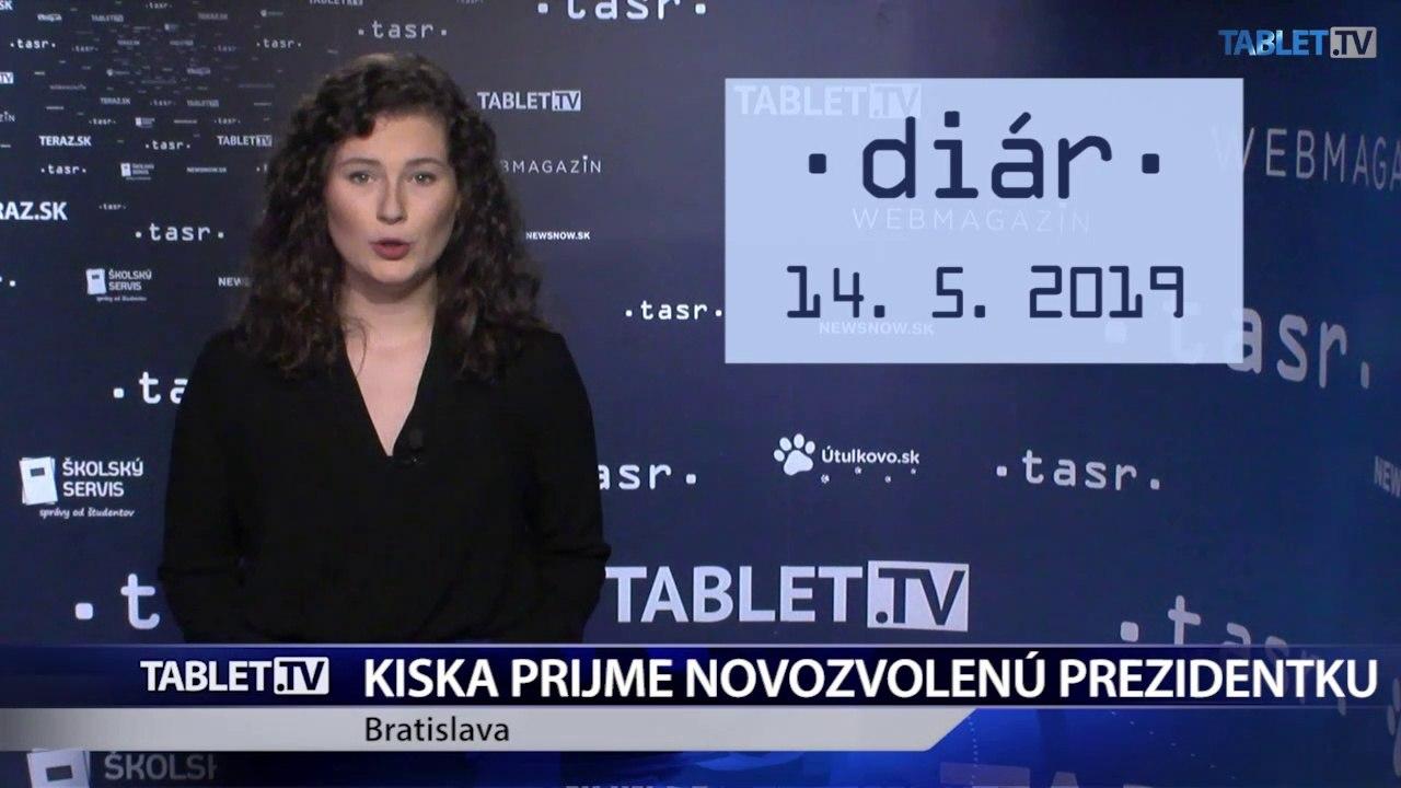 DIÁR: A. Kiska prijme novozvolenú prezidentku