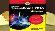 Full E-book  Sharepoint 2016 for Dummies  Best Sellers Rank : #4