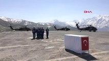 Hakkari Şehit Jandarma Uzman Çavuş Volkan Demirci İçin Hakkari'de Tören Düzenlendi-1