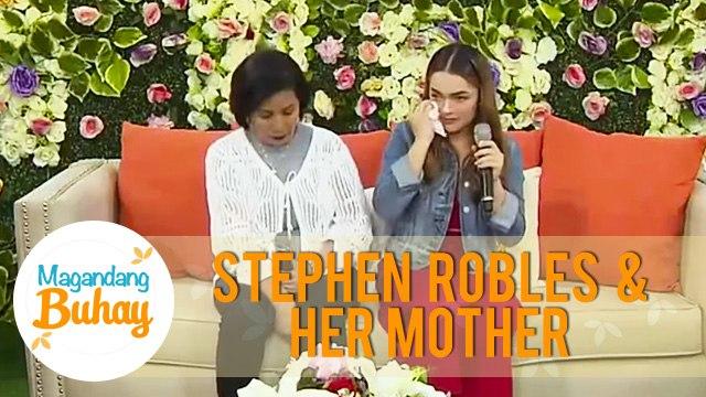 Stephen gets emotional on Magandang Buhay   Magandang Buhay
