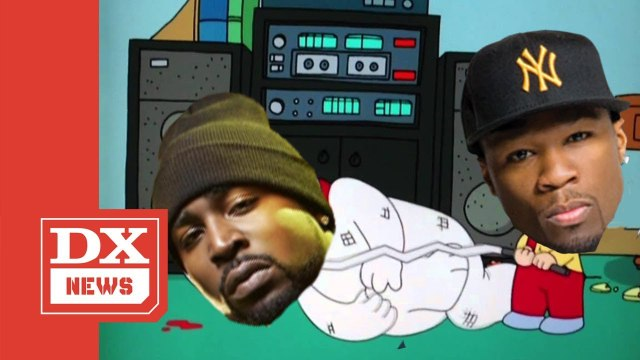 """50 Cent Trolls Young Buck With """"Family Guy"""" Clip"""