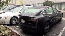 Le coffre de la Tesla Model 3 n'aime pas la pluie