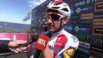 Elia Viviani - Interview at the start - Stage 4 - Giro d'Italia / Tour of Italy 2019