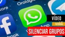 Cómo silenciar grupos en WhatsApp