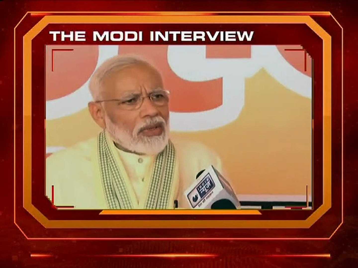 Narendra Modi Interview Promo, LIVE On NewsX At 6 PM - PM Modi on Opposition