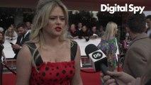 Emily Atack BAFTA TV Awards Red Carpet