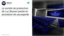 Europacorp , la société de production de Luc Besson, placée en procédure de sauvegarde