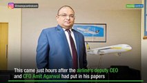 Jet Airways CEO Vinay Dube resigns with immediate effect