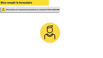 Comment compléter les champs Informations sur la personne du formulaire de pharmacovigilance ?