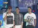 "Bagong dance step ni Vice na ""Love Never Felt So Good"" at ""Boom Panes"" hit na hit sa madlang people"
