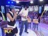 PBA legends Bal, Marlou and Vince do the wiggle dance on GGV