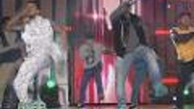 Jhong & John with Mini Me child wonders on ASAP stage