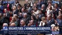 L'Assemblée nationale rend hommage aux deux soldats tués au Burkina Faso