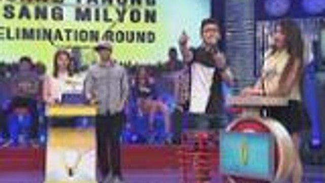 Super Manuel at Sexbomb Aira nag showdown sa It's Showtime