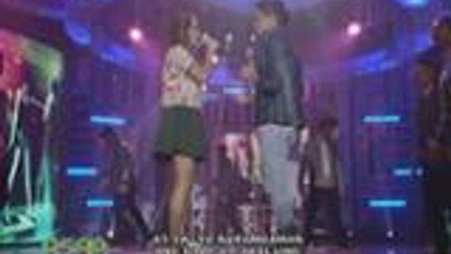 """JaDine, pinakilig ang fans sa kanilang """"Bahala Na"""" duet"""
