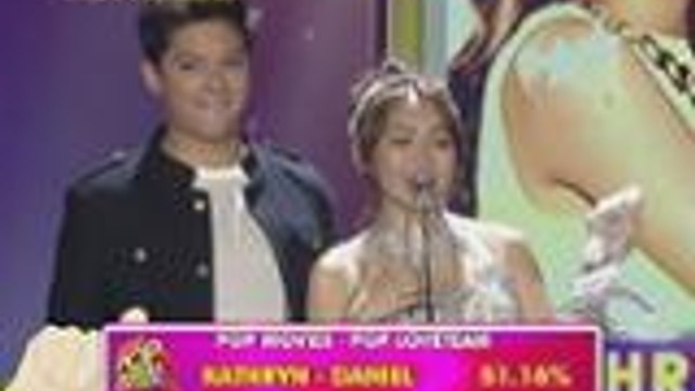 ASAP Pop Awards Pop Love Team: Kathryn Bernardo and Daniel Padilla