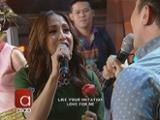 Jolina, nakipag-karaoke showdown kina Luis at Kim