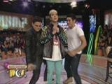 Gerald, Ken in Anaconda dance showdown