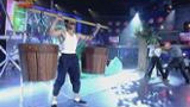 Maaksyong talent ng Bruce Lee Kalokalike finalist sa Grand Finals ng Kalokalike