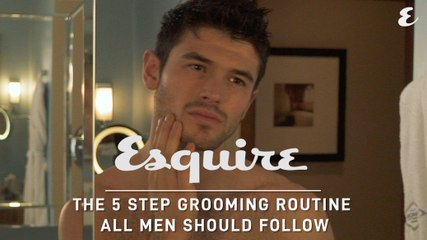 The 5 Step Grooming Routine All Men Should Follow