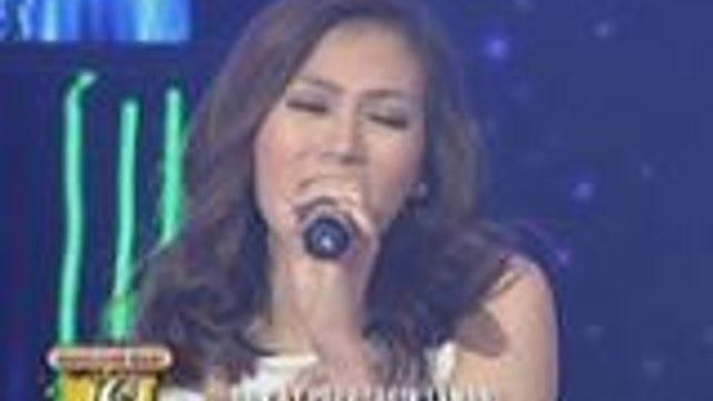 """Alex Gonzaga sings """"Panaginip Lang"""" on GGV"""