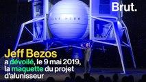 Le milliardaire américain Jeff Bezos à la conquête de la Lune