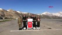 Hakkari Şehit Piyade Uzman Çavuş Zekeriya Zencili İçin Hakkari'de Tören Düzenlendi-2