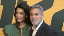 """Right Now: George and Amal Clooney at """"Catch-22"""" Red Carpet Premiere in Rome"""