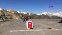 Hakkari Şehit Piyade Uzman Çavuş Zekeriya Zencili İçin Hakkari'de Tören Düzenlendi-1
