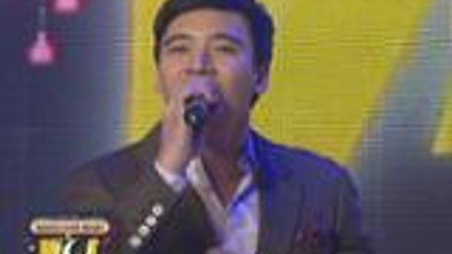 Erik Santos mimics Pinoy singers