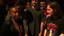 Christiane Taubira, marraine des jeunes cinéastes Toulonnais