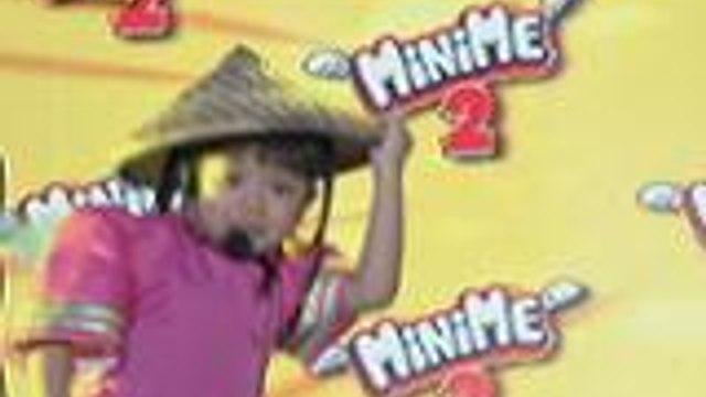 Mini Me ni Jolina Magdangal nag-Chuva Choo Choo sa weekly finals