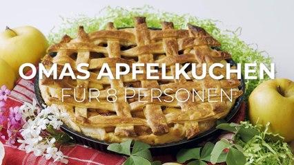 Omas Apfelkuchen für 8 Personen