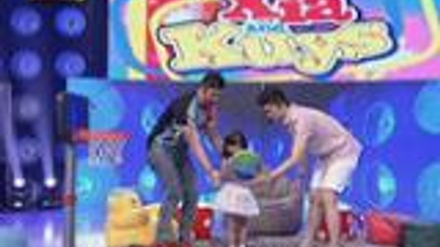 Xia tinuruan nina Kuys Billy and Vhong magbasketball