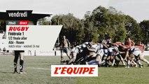 1/2 Finale aller Albi vs Rouen, bande-annonce - RUGBY - FÉDÉRALE 1