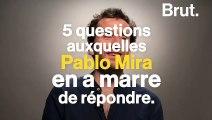 Le chroniqueur Pablo Mira répond aux questions qui l'agacent