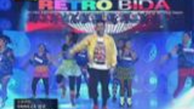 Billy Crawford nag-running man at iba pang throwback dance moves sa Retro Bida