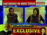 Ram Madhav Exclusive Interview: Hindu terror is an oxymoron