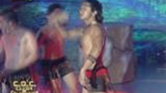 Manuel Chua napasabak sa intense na Haka dance performance sa It's Showtime Clash of Celebrities
