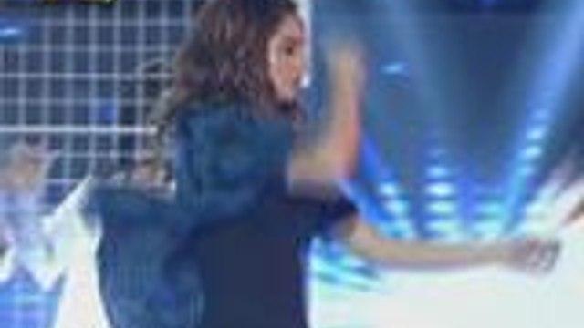 Coleen Garcia mas pinainit ang hapon ng madlang people sa sexy performance niya sa It's Showtime