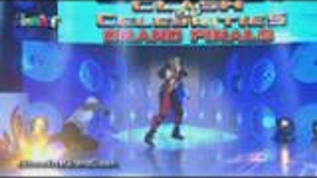 Giselle Sanchez, hindi lang nag beatbox may buwis buhay performance pa sa It's Showtime Clash of Celebrities Grand Finals