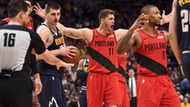 Blazers beat Nuggets in Game 7 to reach conference finals