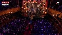 Molières 2019 : Alex Vizorek se fait trancher la gorge sur scène (vidéo)