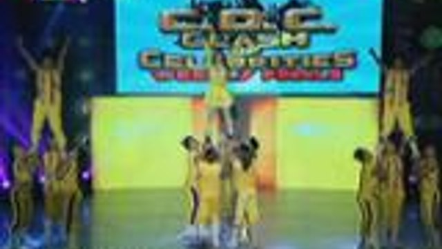 Mika dela Cruz returns to It's Showtime Clash of Celebrities with cheer dance performance