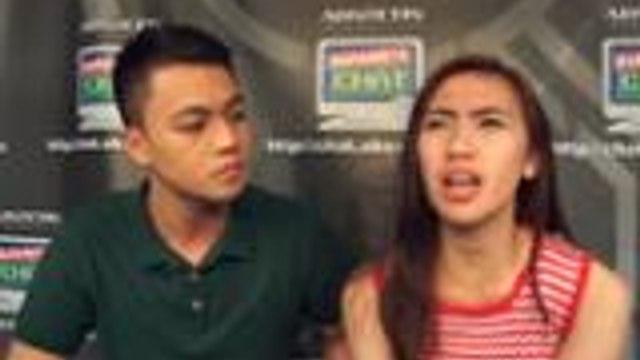 Mr and Ms Pastillas Richard and Angelica, sabay na sumabak sa Atin A10 Lang