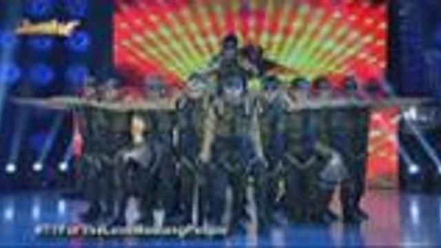 Military performance ng  F.0.S. 417 mula sa Malabon sa Halo Halloween