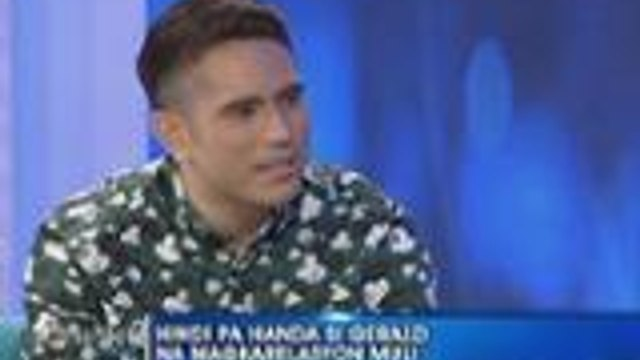 Gerald Anderson, not ready to get into a relationship again