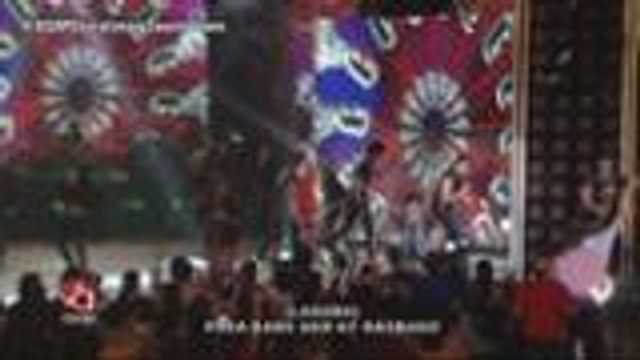 Sampaguita rocks on the ASAP stage together with Gary V., Rico, Yeng, KZ, Bradley and Jason