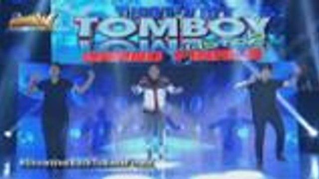 Gelia pinakita ang mga swabeng dance move sa That's My Tomboy Astig 2 Grand Finals