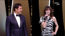 Charlotte Gainsbourg & Javier Bardem déclarent le 72ème festival de Cannes ouvert - Cannes 2019